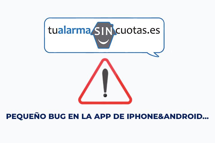 Pequeño bug en la app de Iphone&Android…