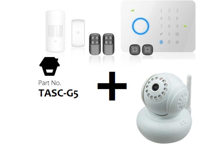 Alarma + Cámara IP o Alarma + Fotodetector