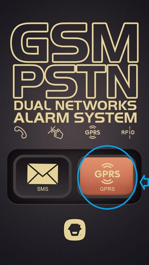 Uso de tu alarma TASC-B11 mediante GPRS