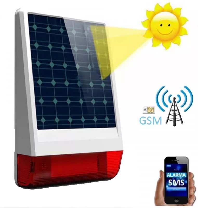 Alarma solar sin electricidad - Tu Alarma Sin Cuotas