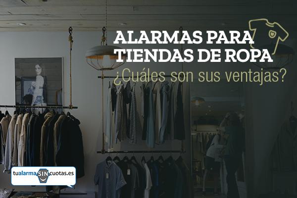 Alarmas para tiendas de ropa