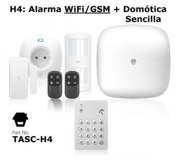 Alarma Domótica TASC-H4