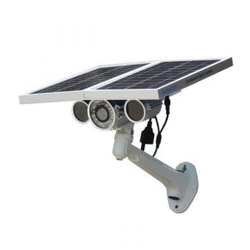 Cámara IP Wifi MEGAPIXEL con visión nocturna para exterior y SOLAR