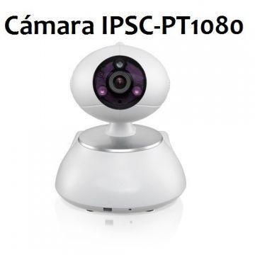 Cámara IP Wifi motorizada con visión nocturna, graba imágenes, Full HD 1080p