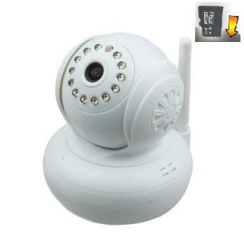 Cámara IP Wifi motorizada con visión nocturna, graba imágenes, PnP, IRcut
