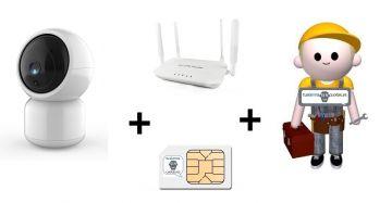 Servicio de Configuración Pack videovigilancia SIN ADSL