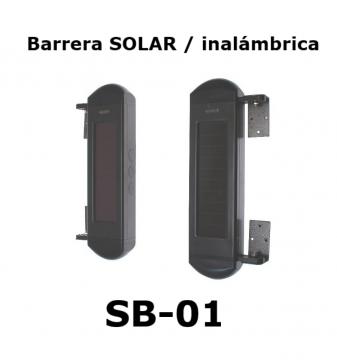 Barrera Solar inalámbrica SB-01