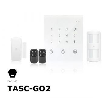 Kit Alarma SIN cuotas GO2 (GSM / SMS) inalámbrica y táctil