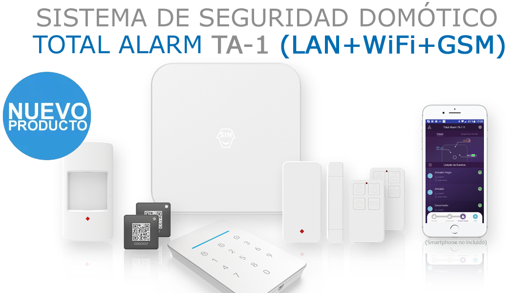 Nueva Total Alarm TA-1