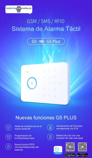 G5 PLUS Características