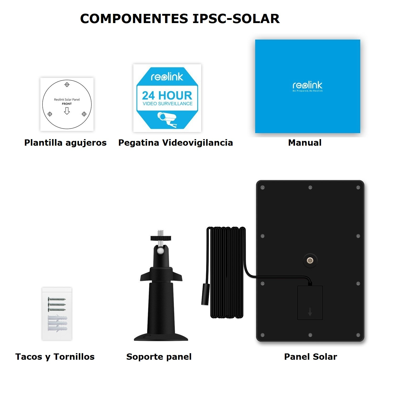 Componentes IPSC-SOLAR