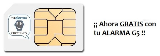 Tarjeta SIM de regalo