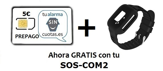 Correa y tarjeta SIM GRATIS